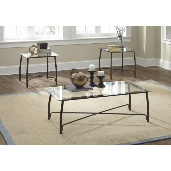T004 13 Burmesque Table Set Of 3 Ashley Furniture