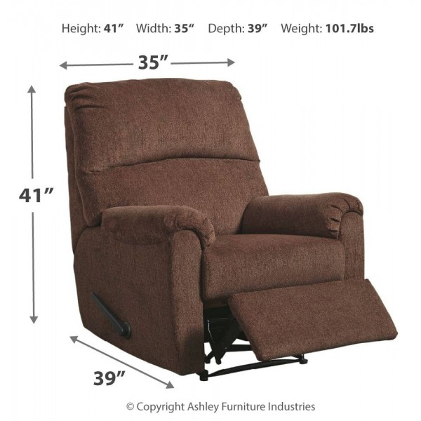 1080229 Nerviano Manual Recliner By Ashley Furniture